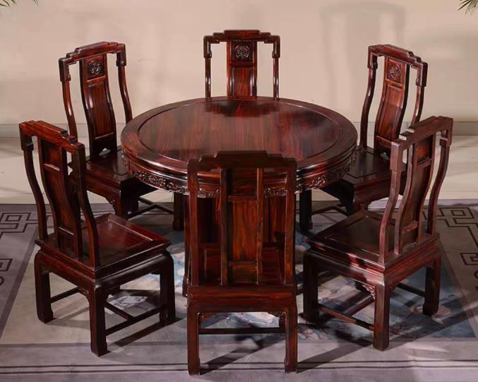 星泰家具(惠州店)10月1-7日盛装开业!红木圆台椅直降万元